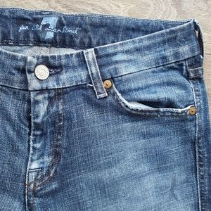 """7 For All Mankind Jeans - Seven Jeans - Crop """"A"""" Pocket"""